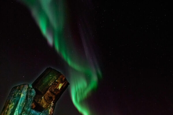 Geomagnetic storms over Klemnes